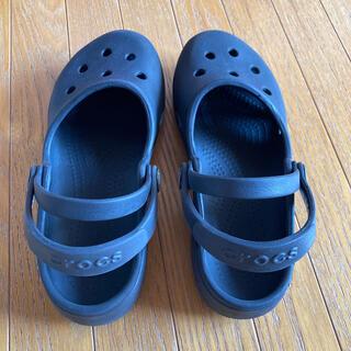 クロックス(crocs)のクロックス ブラック サンダル(サンダル)
