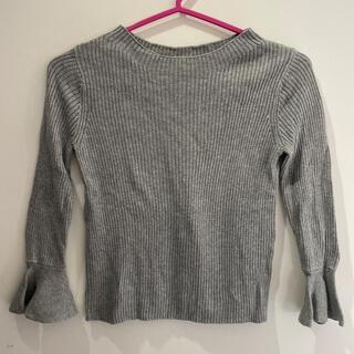 ジーユー(GU)のGU女の子ニット130(Tシャツ/カットソー)