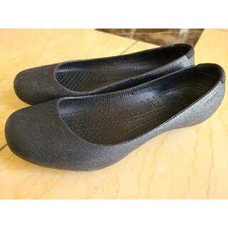 crocs - (crocs☆クロックス)黒 パンプスW9(25cm)