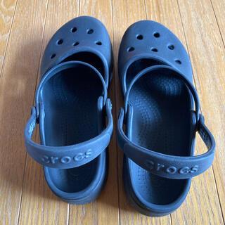 クロックス(crocs)のクロックス  サンダル ブラック J2(サンダル)
