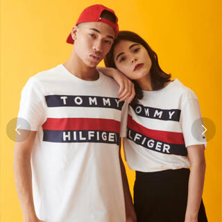TOMMY HILFIGER - TOMMY HILFIGER  フラッグ Tシャツ