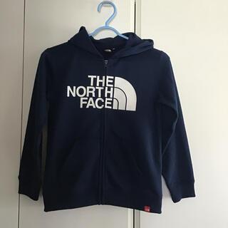 THE NORTH FACE - 良品 THE NORTH FACE パーカー ネイビー 130