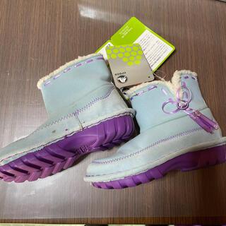クロックス(crocs)のcrocs スエードブーツ18.5cm(ブーツ)