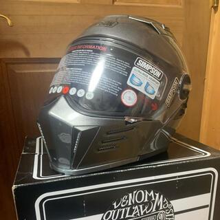 シンプソン(SIMPSON)のシンプソン システムヘルメット darksome 新品未使用 (ヘルメット/シールド)