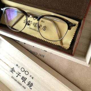 Ayame - 金子眼鏡 KV-34 メガネ 付属品あり