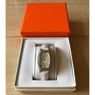 フォリフォリ(Folli Follie)のFolli Follie 腕時計 ベルト白(腕時計)