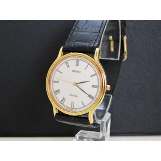 セイコー(SEIKO)のSEIKO Dolce ドルチェローマン ホワイト文字盤 ラウンドフェイス(腕時計(アナログ))