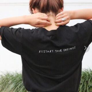 Ungrid - Ungrid 半袖Tシャツ ブラック