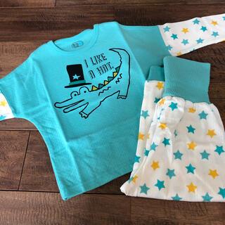 アカチャンホンポ(アカチャンホンポ)の腹巻き付きパジャマ 95 新品(パジャマ)