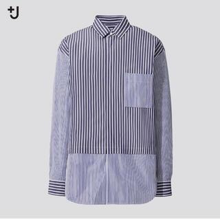 UNIQLO - ★新品 ユニクロ +J スーピマコットンオーバーサイズシャツ ジルサンダー
