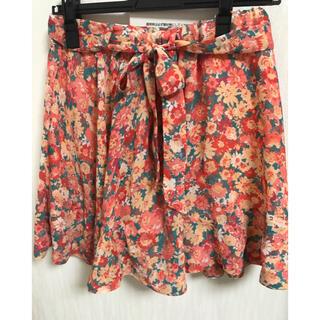 アイズビット(ISBIT)の【ISBIT】花柄キュロットスカート フリーサイズ アイズビット 膝上(キュロット)