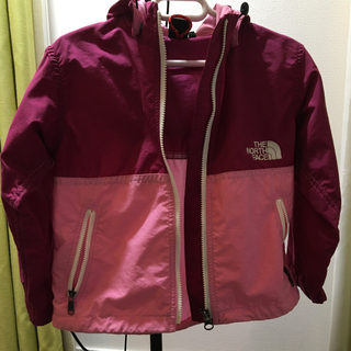 THE NORTH FACE - 中古 THE NORTH FACE コンパクトジャケットKIDS 100