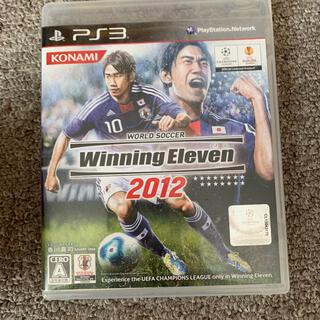 ワールドサッカー ウイニングイレブン 2012 PS3(その他)