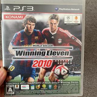 ワールドサッカー ウイニングイレブン 2010 PS3(その他)