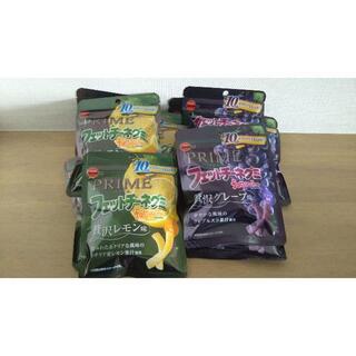 フェットチーネグミ 贅沢レモン味3袋贅沢グレープ味3袋計6袋セット(菓子/デザート)