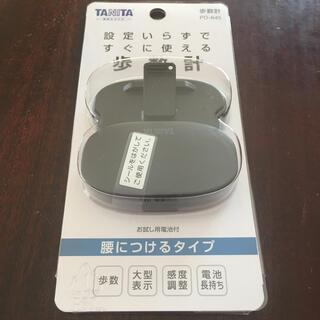 タニタ(TANITA)の歩数計 タニタ PD-645ブラック(ウォーキング)