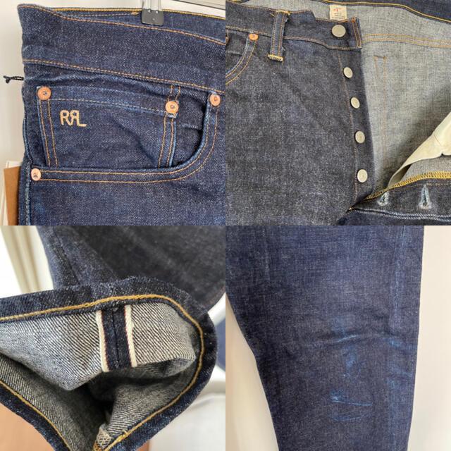 RRL(ダブルアールエル)のRRL slim narrow denim 36/32 メンズのパンツ(デニム/ジーンズ)の商品写真