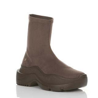 イエローブーツ(Yellow boots)のyello  SNEAKER SHORT BOOTS サイズM 一度着用(ブーツ)