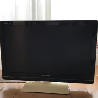 アクオス(AQUOS)のTwins様専用!シャープ22型テレビ AQUOS LC-22k5  ホワイト♪(テレビ)