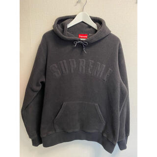 シュプリーム(Supreme)のSupreme Polartec hooded sweatshirt パーカー(パーカー)