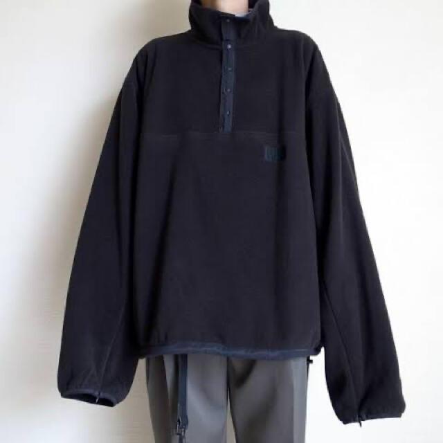 SUNSEA(サンシー)のstein 19aw Oversized Fleece Top メンズのジャケット/アウター(ブルゾン)の商品写真