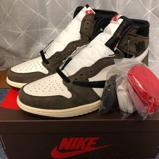 NIKE『TRAVIS SCOTT×AIR JORDAN 1 』27.5cm(スニーカー)