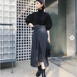 ENFOLD - RIM.ARK ラップリボンミディスカート
