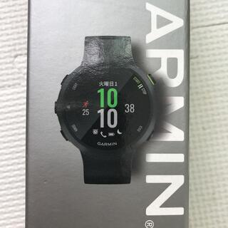 ガーミン(GARMIN)のガーミン ForeAthlete 45(腕時計(デジタル))