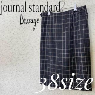JOURNAL STANDARD - JOURNAL STANDARD L'ESSAGE ショルダーストラップスカート