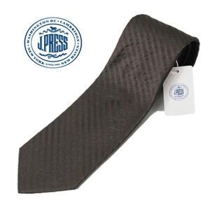 ジェイプレス(J.PRESS)の 《ジェイプレス》新品 シルク100% レジメンタル柄ネクタイ プレゼント(ネクタイ)