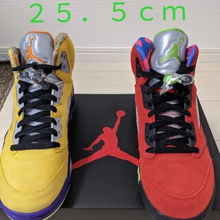 ナイキ(NIKE)のNIKE AIR JORDAN 5 RETRO SE What the 25.5(スニーカー)