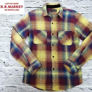 ハリウッドランチマーケット(HOLLYWOOD RANCH MARKET)のハリウッドランチマーケット ネルシャツ ネップ加工 【2】 チェック シャツ(シャツ)
