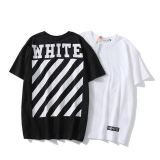 OFF-WHITE - 新品 オフホワイト Tシャツ 2枚8000円 男女兼用  OBX110