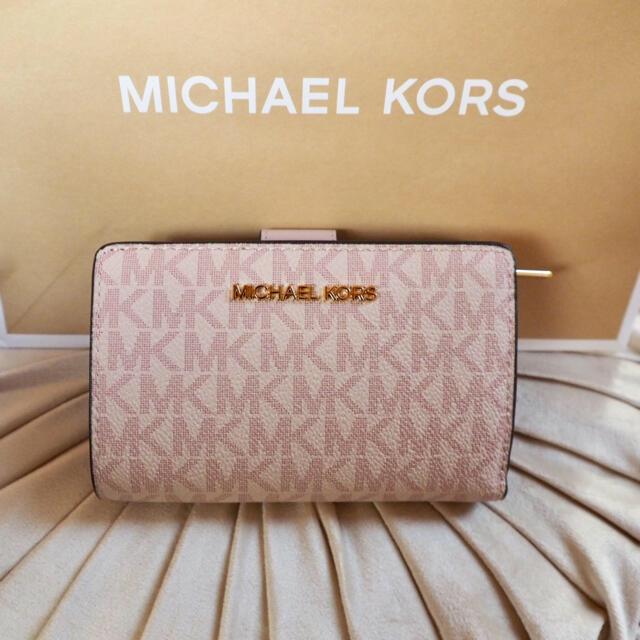 Michael Kors(マイケルコース)のマイケルコース ピンクのお財布☆正規品 新品 SALE中❣️ レディースのファッション小物(財布)の商品写真