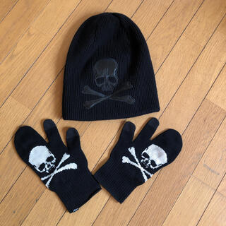 ロエン(Roen)のニット帽 手袋セット(ニット帽/ビーニー)