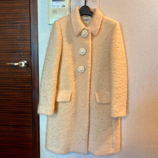 miumiu - ミュウミュウ 正規品 コート クリーム 黄色 美品 新品 未使用