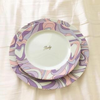 Rady - 完売品 Rady ハートマーブル プレートセット 2枚 皿 食器