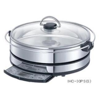 トウシバ(東芝)の東芝 IH調理器 IHC-30PS(S) ステンレスシルバー(調理機器)