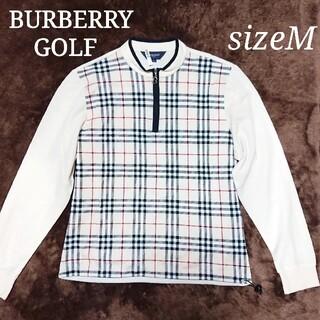 BURBERRY - 美品  バーバリーゴルフ  レディースウェア ノバチェック柄 Mサイズ
