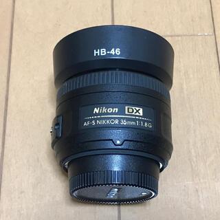 Nikon - 【値下げしました】nikon AF-S NIKKOR 35mm 1:1.8G