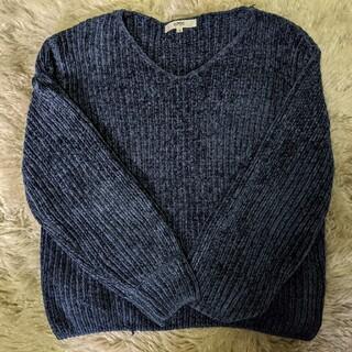 オゾック(OZOC)の青 セーター OZOC(ニット/セーター)
