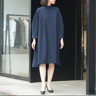 ENFOLD - 美品 ENFOLD エンフォルド ストレッチスタンドボックスドレス
