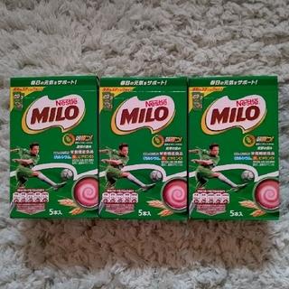 ネスレ(Nestle)のミロ スティック×3箱(その他)