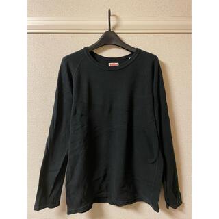 ハリウッドランチマーケット(HOLLYWOOD RANCH MARKET)のハリウッド ランチ マーケット カットソー Tシャツ 長袖 黒 ブラック 4(Tシャツ/カットソー(七分/長袖))