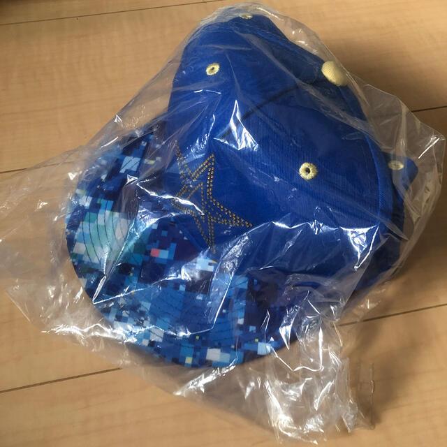 横浜DeNAベイスターズ(ヨコハマディーエヌエーベイスターズ)の2017年 横浜DeNAベイスターズ スターナイト キャップ スポーツ/アウトドアの野球(記念品/関連グッズ)の商品写真