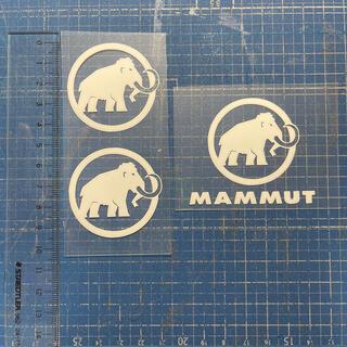 Mammut - 転写シート加工 ※布地マスクに貼れます