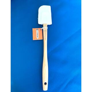 ルクルーゼ(LE CREUSET)の【新品】ル・クルーゼ グルメスパチュラBH ホワイト(調理道具/製菓道具)