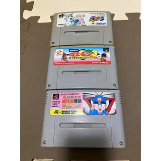 スーパーファミコン(スーパーファミコン)の【moco様 専用】スーパーファミコン3本セット(家庭用ゲームソフト)