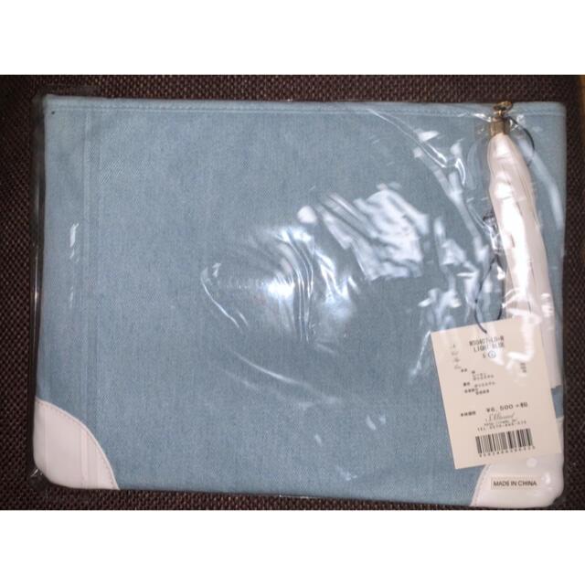 Rady(レディー)のRady タッセル 付き クラッチバッグ ライトブルー Mサイズ レディースのバッグ(クラッチバッグ)の商品写真