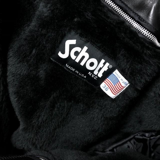 schott(ショット)のライナー付き ショット 643 メンズのジャケット/アウター(ライダースジャケット)の商品写真